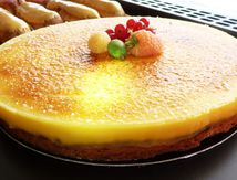 Tarte passion, citron