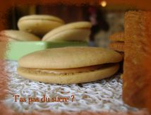 Whoopies aux spéculoos