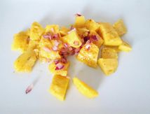 Salade de mangue exotique