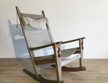 -----------vendu-----------Rocking Chair Hans Wegner Getama