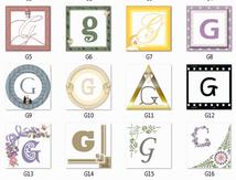 Monogramme G