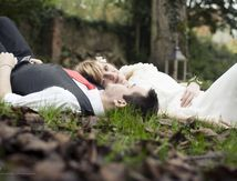 Shooting d'inspiration mariage d'automne