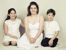 Séance photo studio famille