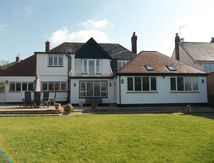 Single story side and rear extension