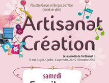 Evreux; Artisanat Création Marché 2014 (1) bis; Du Siège au Décor; Tapissier d'Ameublement