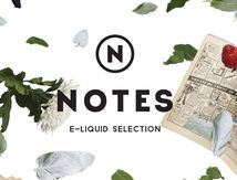 NOTES E-Liquid, vapoter plutôt que fumer