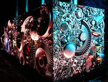 Art et Industrie  / lumière archi Centrale EDF