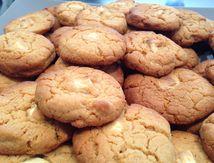 Cookies chocolat blanc / spéculoos