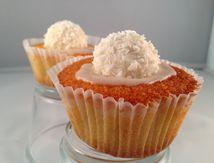Cupcake Raffaello noix de coco