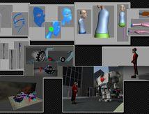 Traveaux sous 3Dsmax, Modo, Zbrush, Phooshop