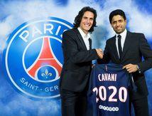 Cavani jusqu'en 2020 !