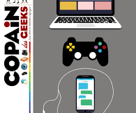 Copain des Geeks : le guide des fondus du numérique, Milan, 2017