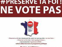 Préserve ta Foi ne vote pas : Bilan de la campagne après le 1er tour des élections municipales