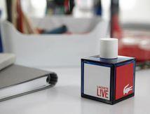 Nouveau parfum Lacoste LIVE