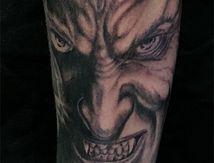 tatouage vampire