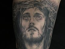 tatouage-jesus-christ