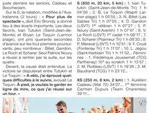 """TRIATHLON INTERNATIONAL DE SAINT GILLES CROIX DE VIE 2014 """" REVUE DE PRESSE """""""
