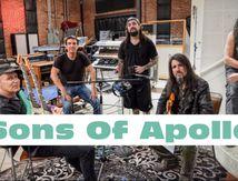 Teaser du 1er album (extraordinaire) de SONS OF APOLLO