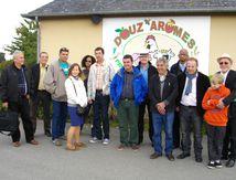 Une délégation officielle cubaine en Bretagne