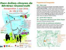 Inauguration du Parc éolien citoyen de Sévérac-Guenrouët (44)