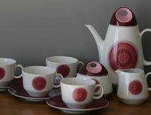 Service à café Bavaria Bareuther Années 70 - Vintage