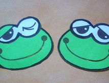 Marque page grenouille