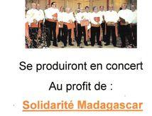 """Choeur des """"Chemises Blanches"""" à Dogneville"""