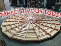 "Yourte ""made in les Vosges"""