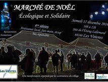 Le Marché de Noël Écologique et Solidaire à Les Voivres