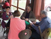 Sélections pour le concours de tarot au Club du Pont des Fées