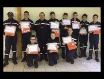 Les Jeunes Sapeurs Pompiers assistants de sécurité