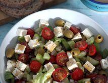 """Salade grecque (""""horiatiki salata"""")"""