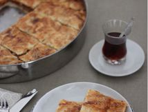Tepsi Böregi (Borek turc à la viande hachée et cuit au four) et Ramadan Moubarak