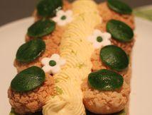 Tarte citron vert et vanille façon Saint Honoré