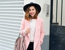 Look du jour : Le manteau rose