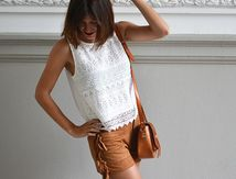 Look du jour : Le short à franges