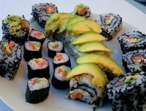 confection des sushis, makis et californias