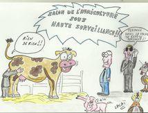 salon de l'agriculture sous haute surveillance!!!