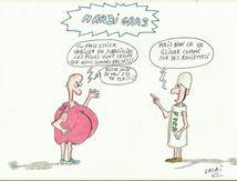 dessin mardi gras histoire de fesse!