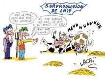 dessin affaire du lait lactalis