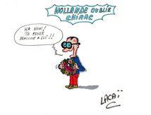 dessin hollande critiqué pour ne pas avoir pris des nouvelles de jacques chirac
