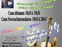 Cours de Country à Touvre animés par Sylvaine - Saison 2017-2018 - Démarrage des Cours le lundi 11/09/2017