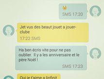 Mon coeur de Maman pour un sms