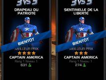 Nouvelle arène Enfin sur Marvel contest of Champions