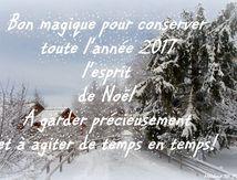 6 nouvelles cartes gratuites pour souhaiter une bonne année 2017 et dire merci pour Noël