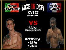 Boxe In Defi XVIII - Combat n°6