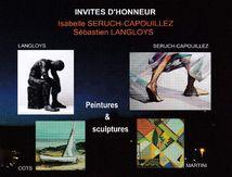 Mes aquarelles à l'honneur au Salon de Castelmaurou du 10 au 17 Mars