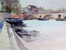 Aquarelles Toulouse