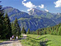 En 1995 en Haute-Savoie, la montagne en argentique