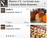 Nouvelle version iPhone de Food Reporter ! (1.3)